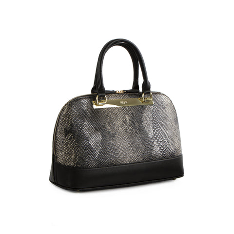 La Mode Dome Satchel - Snake