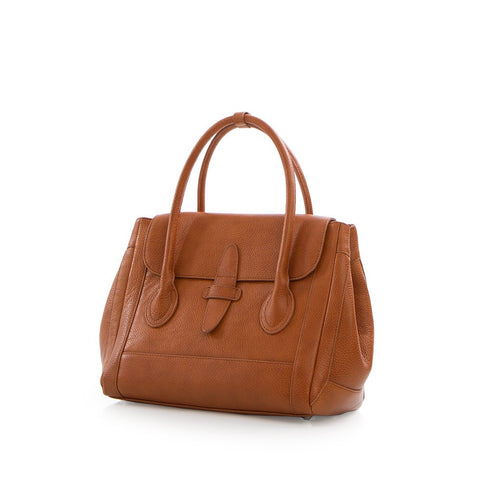 Barcelona Small Tote - Tan