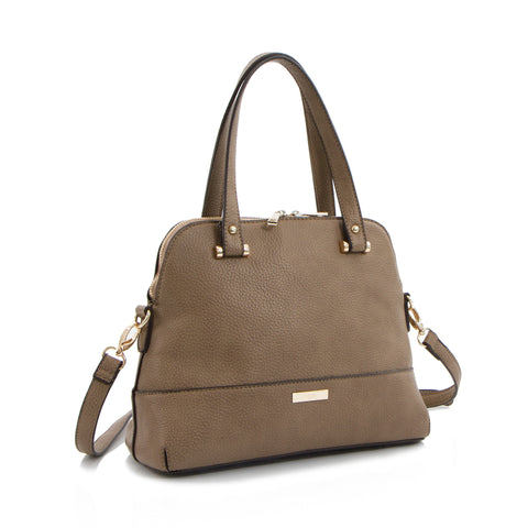 Spring Bliss Small Satchel - Taupe