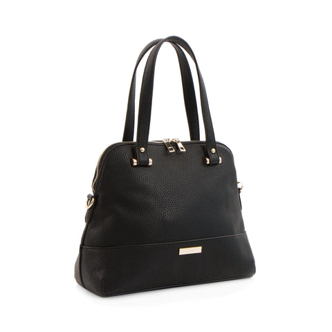 Spring Bliss Small Satchel - Black