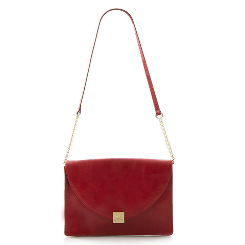 Jewels of Serendib Envelope Shoulder Bag - Ruby