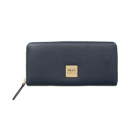 Jewels of Serendib Large Zippered Wallet - Sapphire