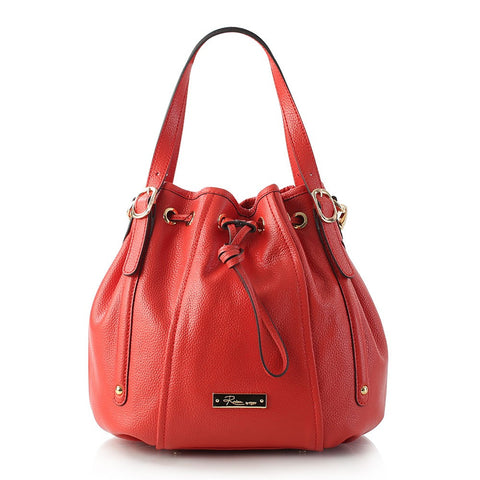Saint-Tropez Drawstring Bag - Poppy