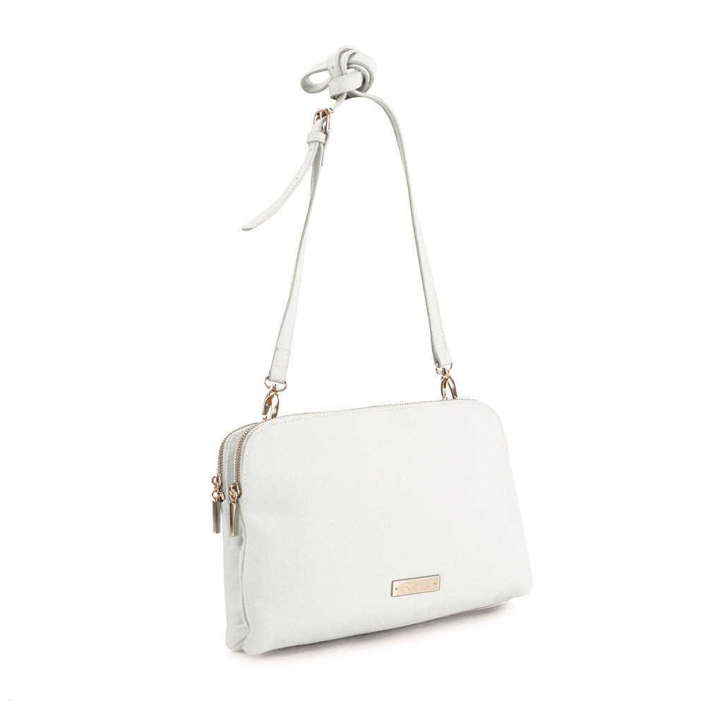 Maui Bay Crossbody/Clutch - White