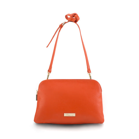 Maui Bay Crossbody/Clutch - Tangerine