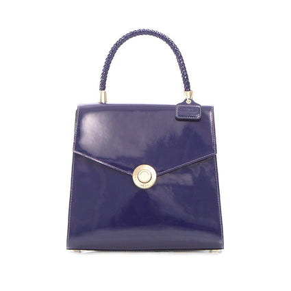 Yorkville Patent Small Arm Bag - Purple