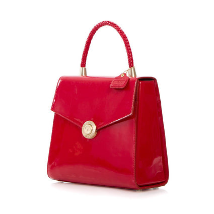 Yorkville Patent Small Arm Bag - Red