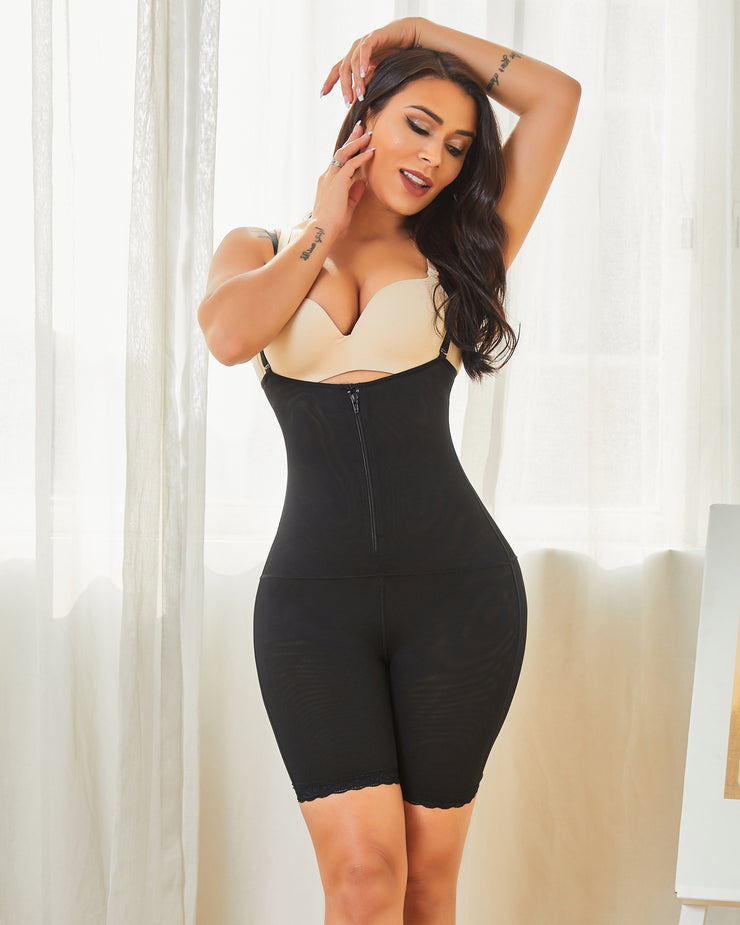 Women's one-piece seamless tights