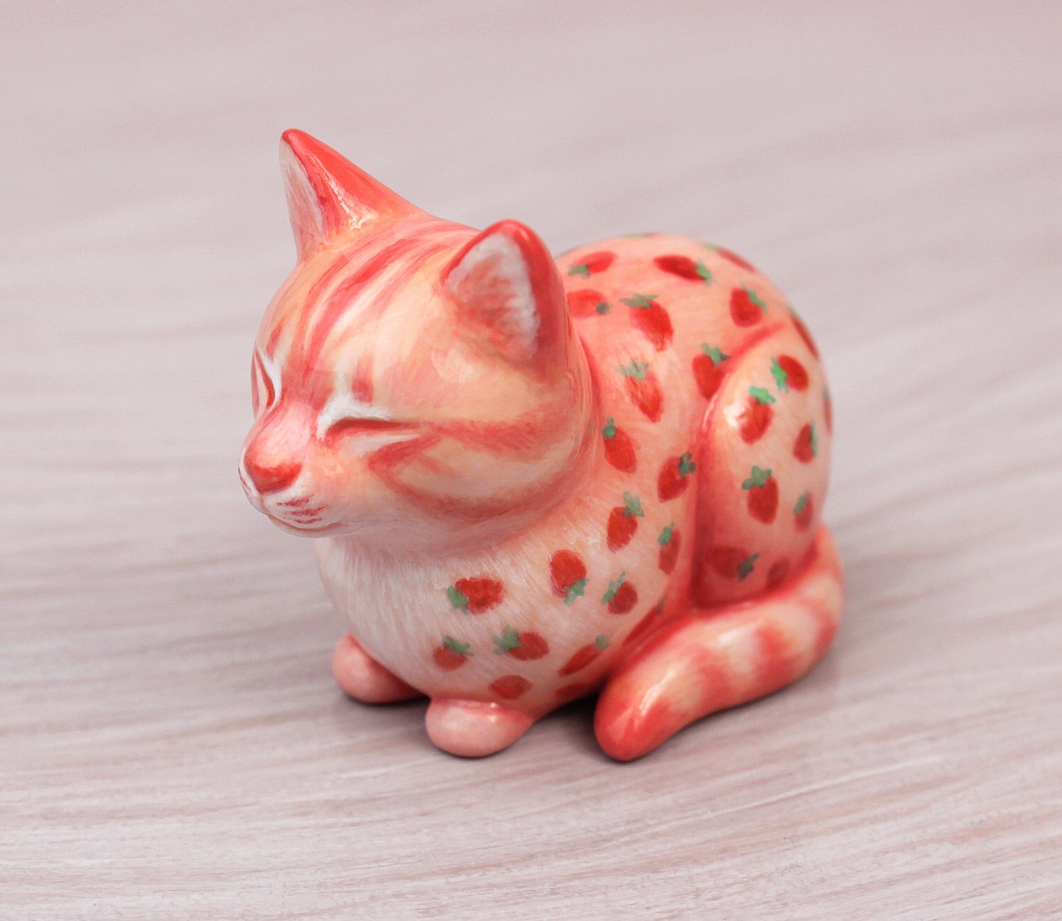 Strawberry cat