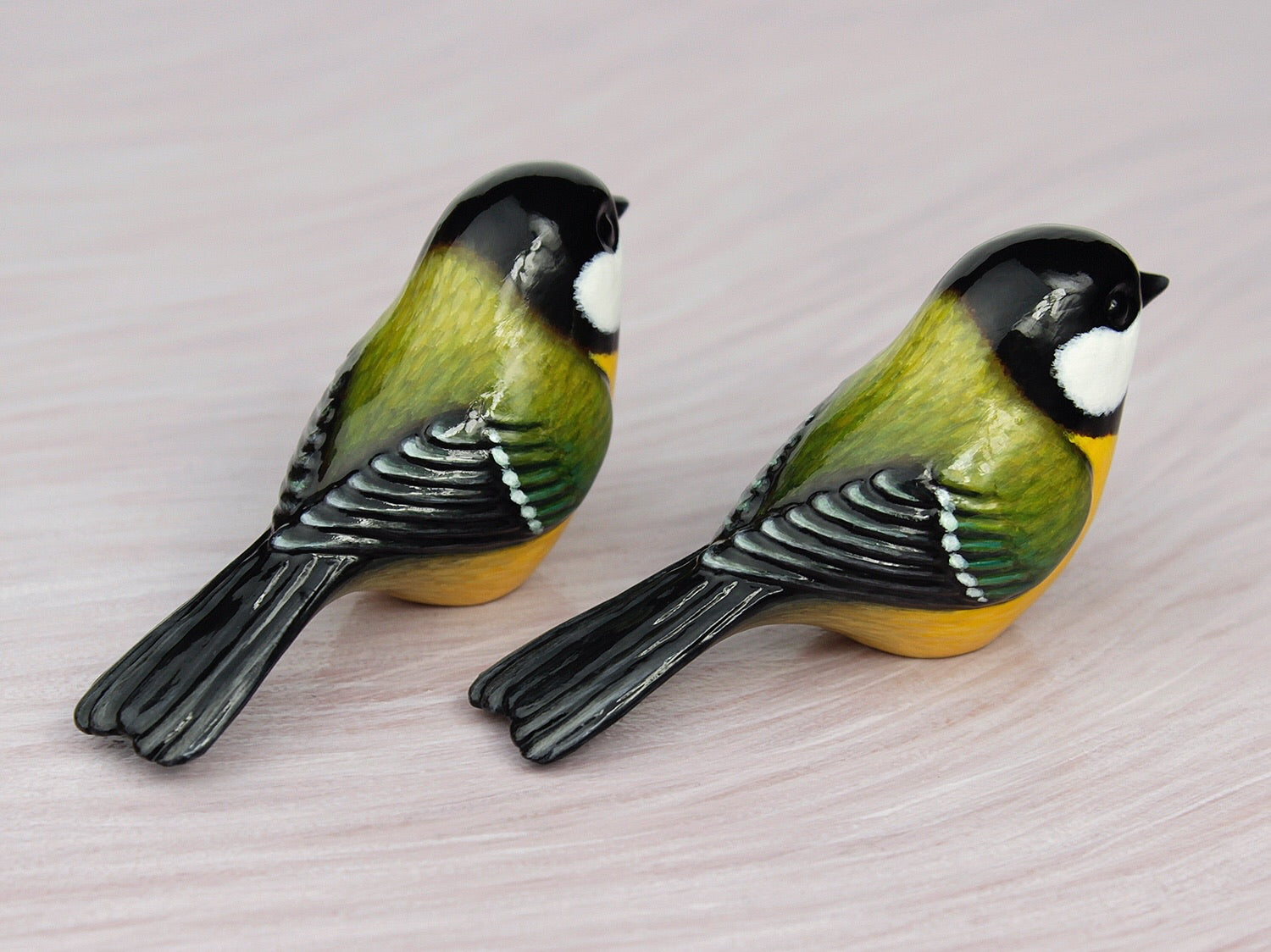 great tit figurines