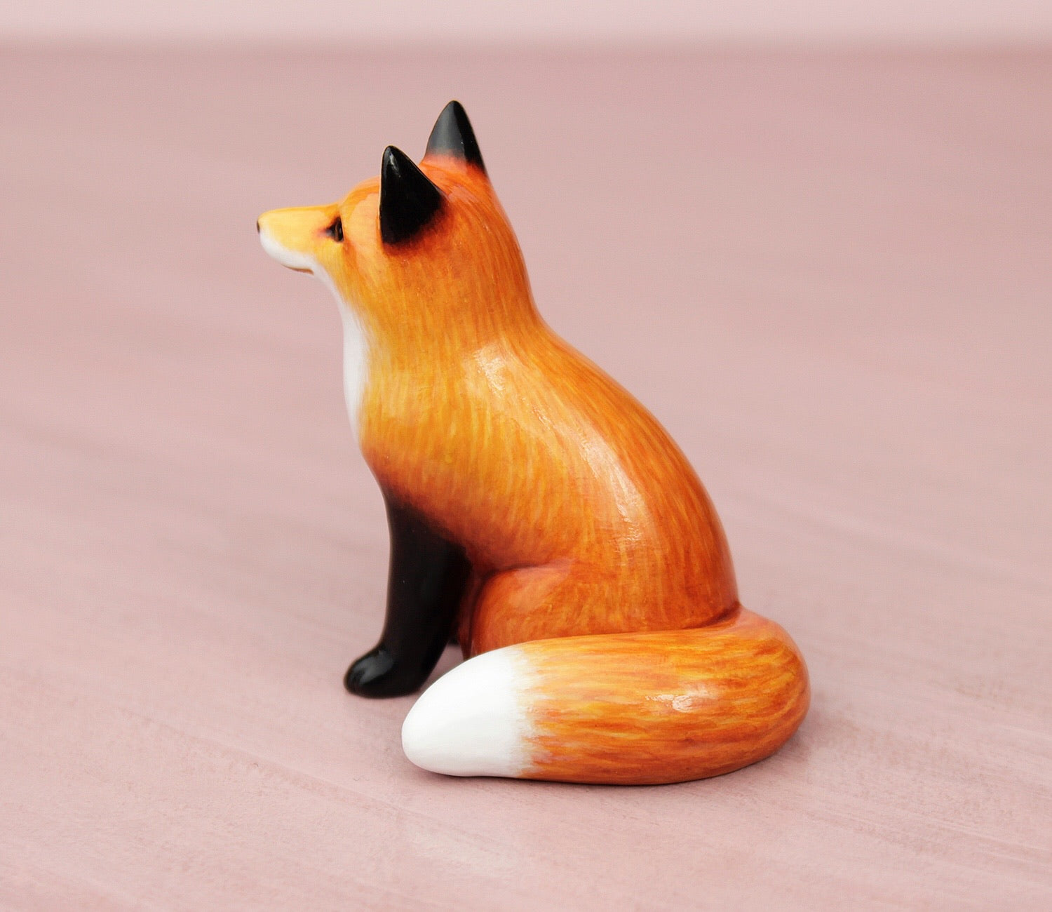 sitting fox figurine
