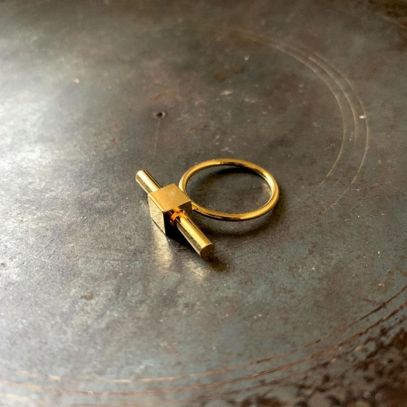 Knotted Ring - Gold
