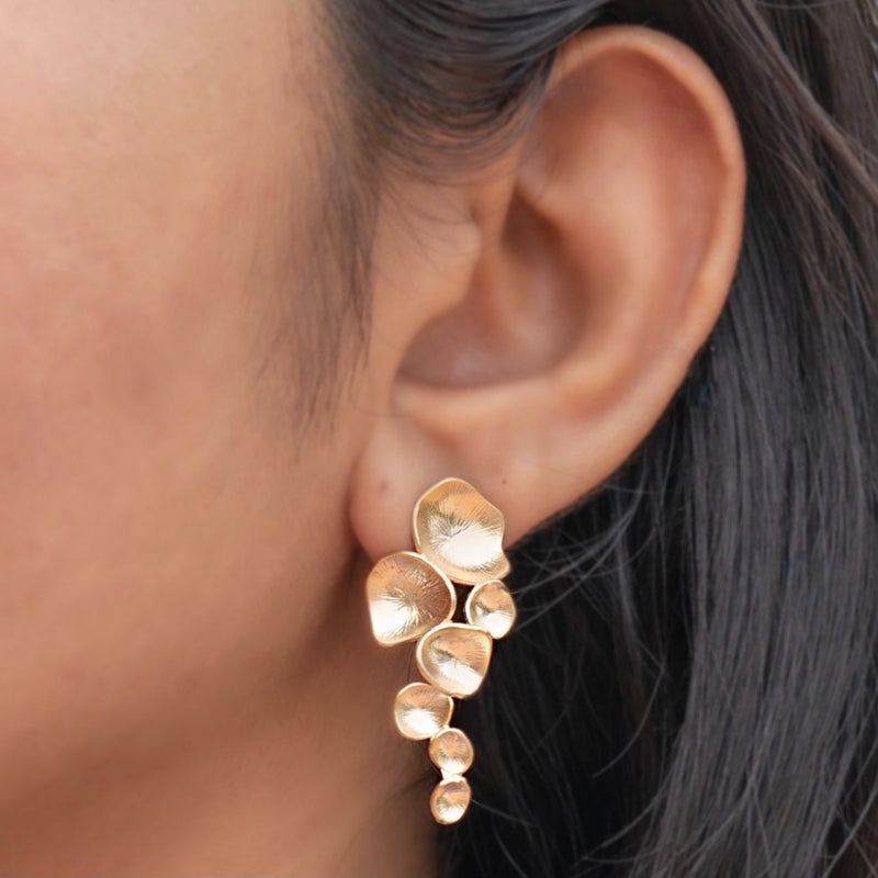 Bubbbled Droplets Earrings