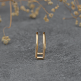 Double layered Ear Cuff