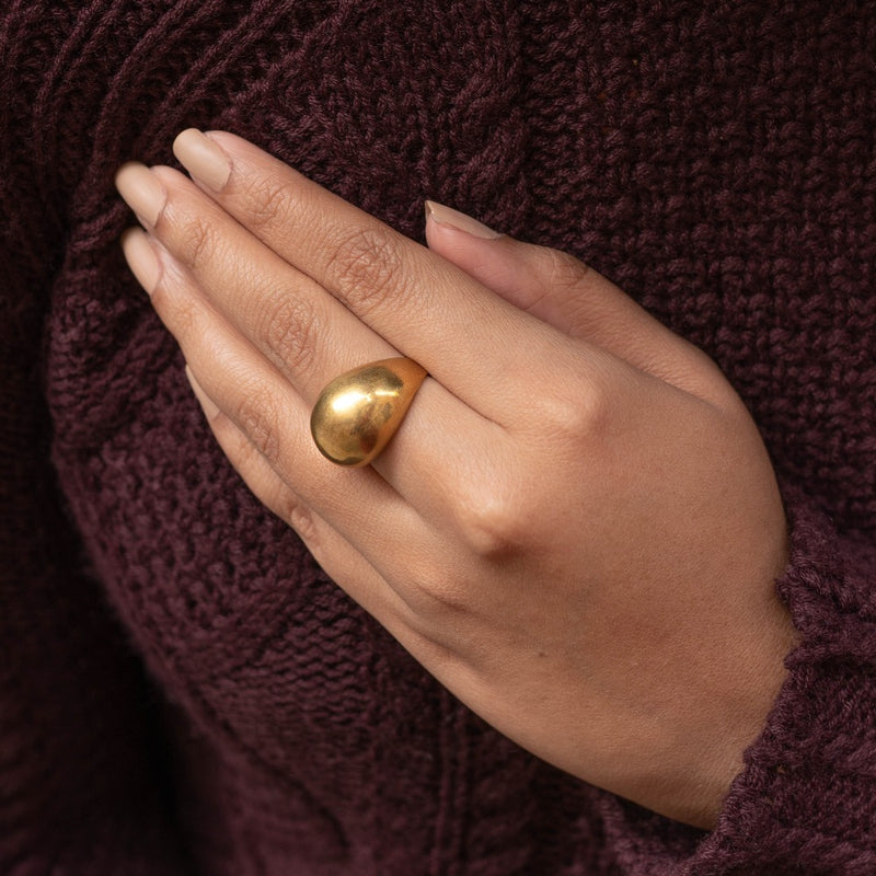 Domed Finger Rings