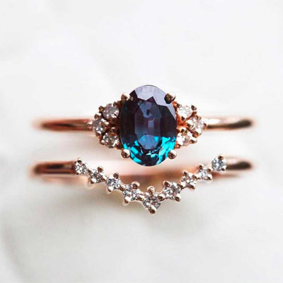 Gemstone Engagement Ring: Perfect for a Beautiful Spring Proposal