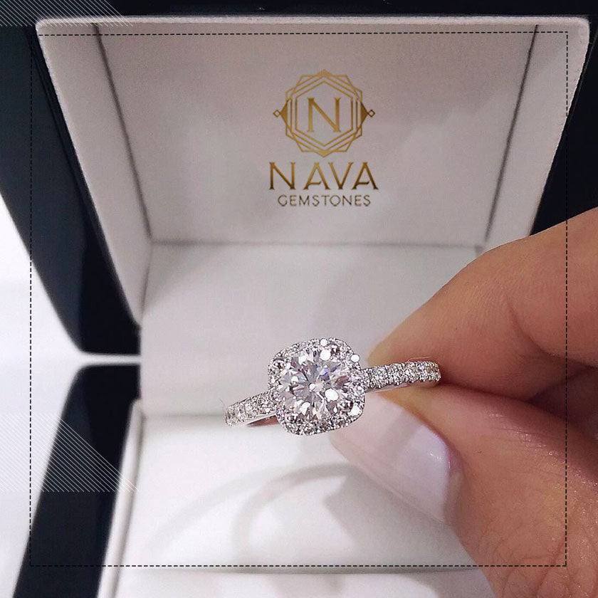 A real diamond from Nava Gemstones
