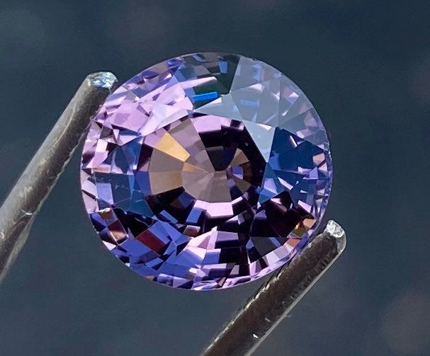 GIA Certified Spinel, 100% Natural, light Pink Purple, 2.97 Carats, VVS-Clean, Oval, 8.95 x 8.42 x 5.43mm