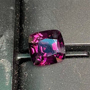 Clean Spinel 5.20 CT, IF, Flawless Deep Lilac Purple, Large Size, Excellent Cushion Cut, Certifiable
