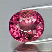 4.72 Ct, Pink Tourmaline, VS eye clean, Oval, Natural Unheated Gemstone from Mozambique