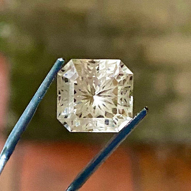 6.8 CT, Tourmaline, Flawless IF, Champagne Color, Fancy Cut, Stunning Gemstone.
