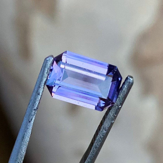 1.75 CT Spinel, AIGS Certified, Purple Color, Super Clean Gemstone.