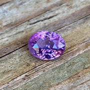 2.25 CT Spinel, Lavender Color, VVS Clean, Oval Cut, Certified by GLC