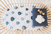 Load image into Gallery viewer, Cloud Chaser | Bassinet Sheet / Change Pad Cover