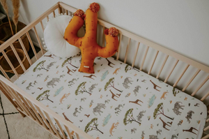 Safari | Fitted Cot Sheet