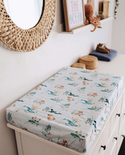 Load image into Gallery viewer, Whale | Bassinet Sheet / Change Pad Cover