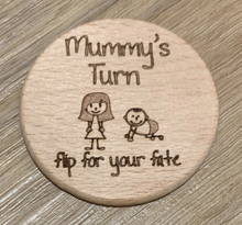 Load image into Gallery viewer, Mummy's turn/Daddy's turn flip disc