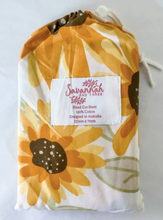 Load image into Gallery viewer, Sunflower BASSINET SHEET/CHANGE PAD COVER