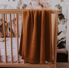 Load image into Gallery viewer, Bronze | Diamond Knit Baby Blanket