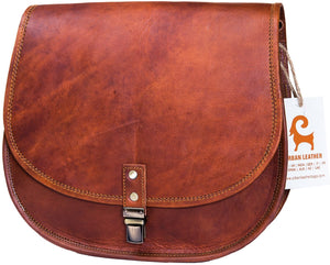 Urban Leather Crossbody Bags for Women Saddle Bag Purse Handbags Gift for Young Women & Teen Girls