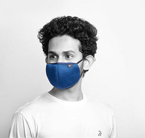 Soft Cotton Face Mask, Anti- Pollution, Anti- Dust Mask, Jog Mask - Breathable, Reusable, Washable