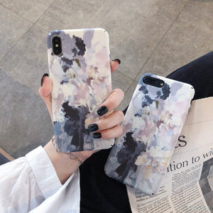 Hard PC Plastic  Retro Leaves Phone Back Case For Huawei P20 P30 Nova 3 3i 4 5 5i Honor 8X 9X 9 10 20 lite Pro