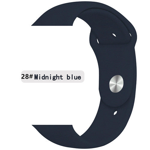High Quality Silicone Very Light Weight Apple Watch Strap