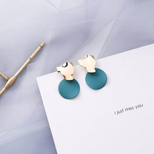 Acrylic Drop Earrings for Women