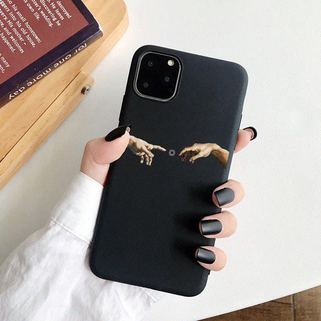 Soft silicone Mobile Phone Case For iPhone