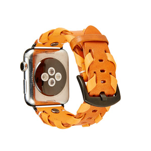 Woven Leather Bracelet For Apple Watch Series 1/ 2/ 3/ 4 /5  38mm 40mm 42mm 44mm