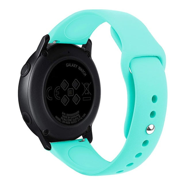 Silicone 20MM Original Sport watch band For  Samsung Galaxy watch