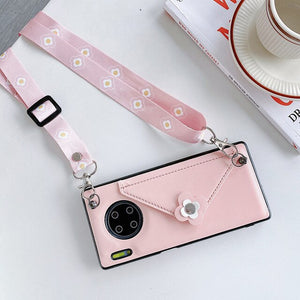 Cross body  Wallet/ Purse Case For Huawei