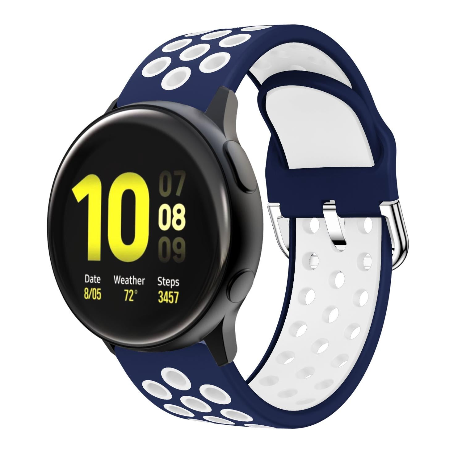 Sport  Silicone Replacement watch Band For Samsung Galaxy watch active 1 active 2 40mm 44mm