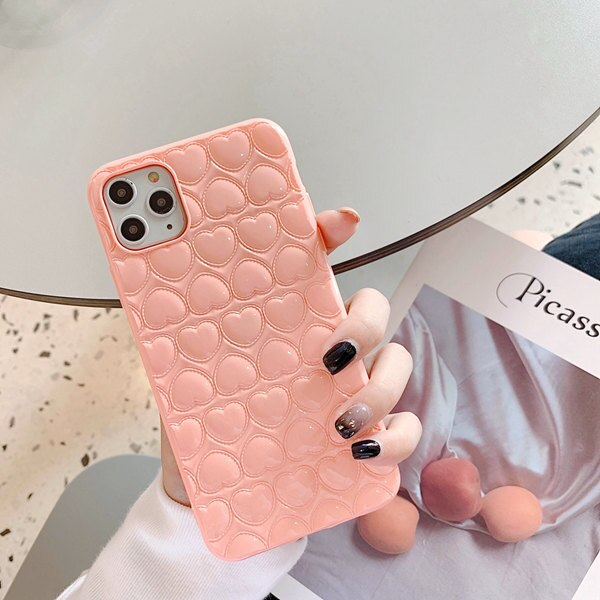 Heart Love Soft Silicone Phone Case for iPhone