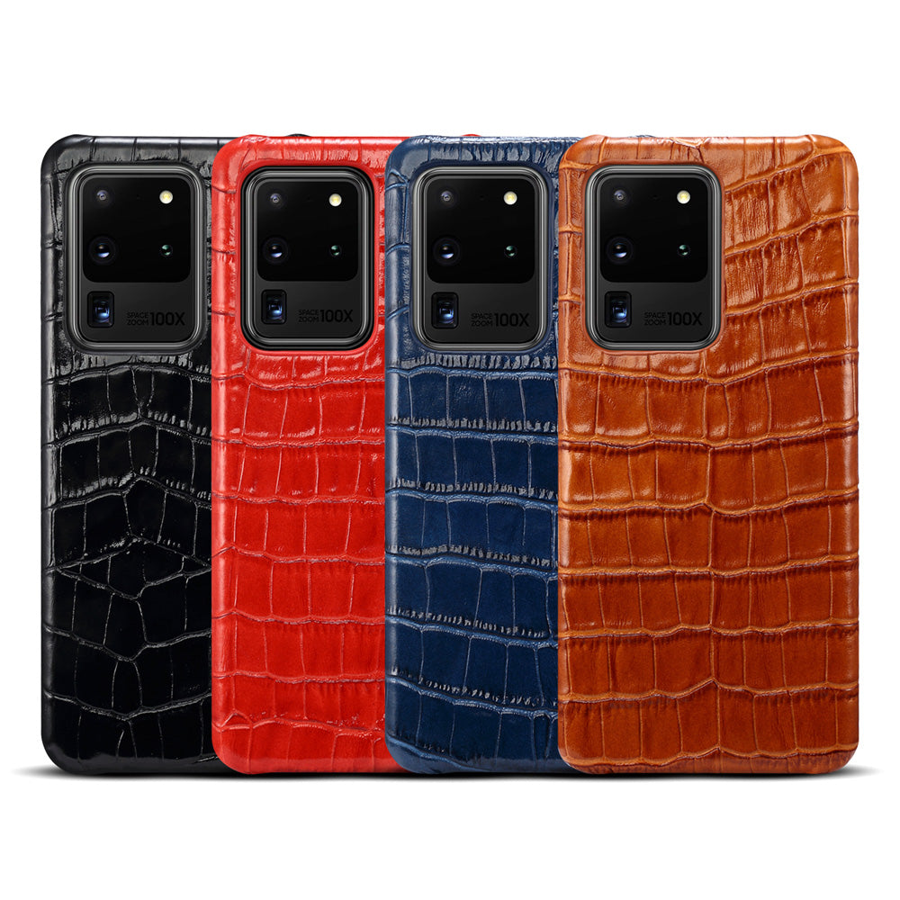 Genuine Leather Case for Samsung Galaxy S20 /Plus S20 Ultra/  S10 / Note10