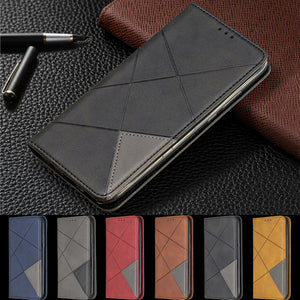Magnetic Leather Flip Wallet  Case For Samsung A41/ A11/ A21/ A51/ A71