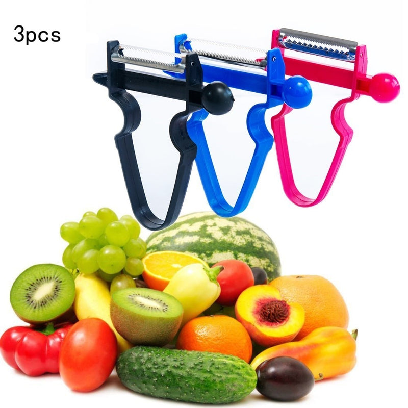 Peel ANYTHING In SECONDS With This AMAZING 3Peely™ Peeler Set