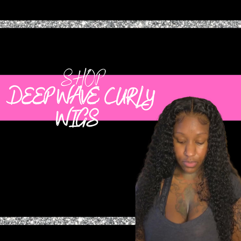 Deep Wave Curly Lace Front Wigs