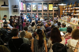 An event at Silverfish Books