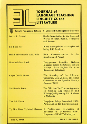 3L Journal (Jilid 4, 1998)